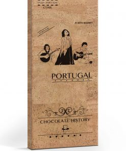 Tablete chocolate cortiça fado