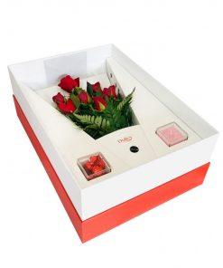 entrega de flores