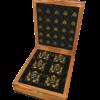 caixa Bombons com ouro 24kt